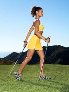 nordicwalkingwoman