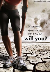 You can – but will you?